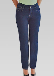 CLASSIC HIGH RISE STRAIGHT LEG JEANS
